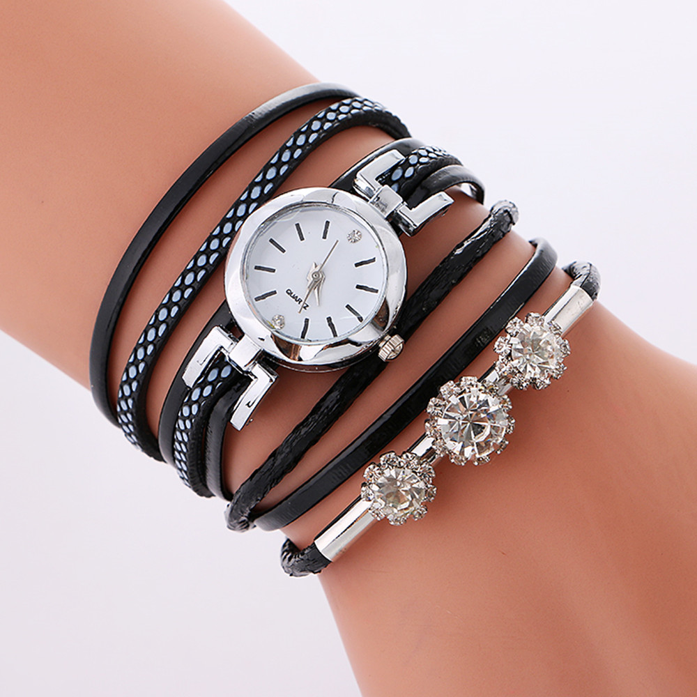Diamond Women's Watches Sell Well In Europe And The United States Around The Small Table Luxury Brand Watches Gifts For Women