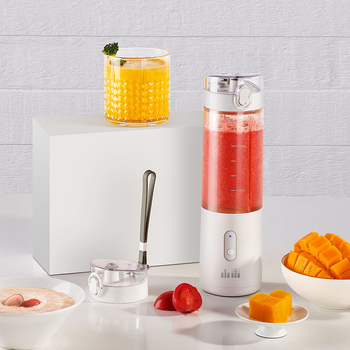 Portable Fruit Cup Juicer Blender Electric Kitchen Mixer Food-Processor Smoothie 350ML Magnetic charging 30 Seconds Of Quick