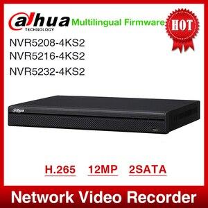 Image 1 - Vận Chuyển Nhanh Dahua NVR5208 4KS2 NVR5216 4KS2 NVR5232 4KS2 16/32CH 1U 4K & H.265 Pro Mạng Ghi 12MP Full HD 2SATA