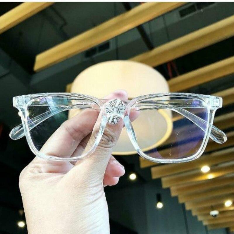 Transparent Women Glasses Frame Men 2019 Eyeglasses Frame Vintage Square Clear Lens Glasses Optical Spectacle Frame