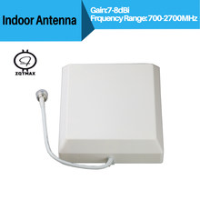 ZQTMAX Antenna for 2G 3G 4G GSM CDMA WCDMA LTE UMTS Indoor Repeater Antenna 4G LTE Wall Antenna 806-2700Mhz Indoor Panel Antenna(China)