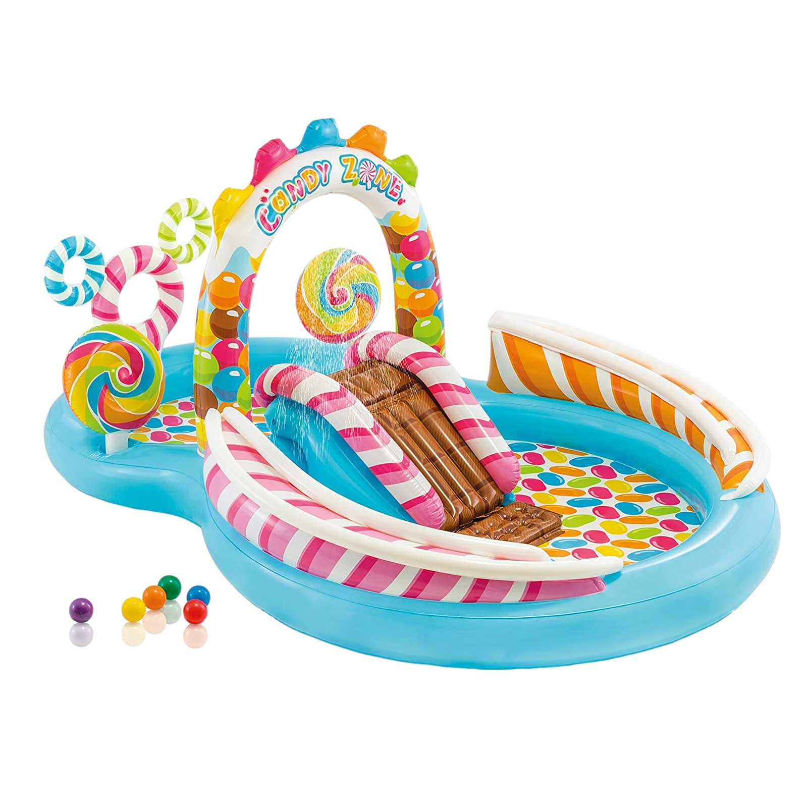 Inflatable Pool Water Slide Fun Lawn Water Slides Pools Inflatable Swimming Pool Unique Children Paddling Pool 295X191X130cm