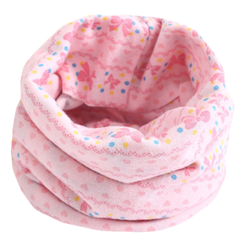 Весенне-осенне-зимний детский хлопковый шарф для От 0 до 10 лет, Детские шарфы с героями мультфильмов, модный теплый воротник - Цвет: 22
