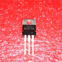 10pcs/lot 7909 L7909 L7909CV TO-220 9V / 1.5A three-terminal regulator new original In Stock free shipping 20pcs lot lm1084 it adj three terminal regulator to 220 package new original