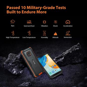 Blackview BV4900 Pro IP68 Rugged Phone 4GB 64GB Octa Core Android 10 Waterproof Mobile Phone 5580mAh NFC 5.7 inch 4G Cellphone 4