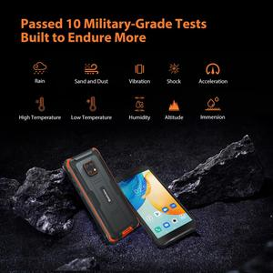 Image 4 - Blackview BV4900 Pro IP68 Rugged Phone 4GB 64GB Octa Core Android 10 Waterproof Mobile Phone 5580mAh NFC 5.7 inch 4G Cellphone