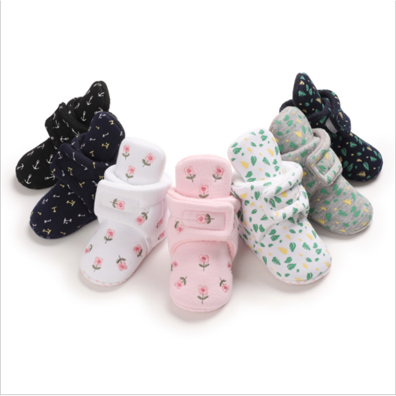 Newborn Baby Winter Boots Infant Girls Boys Baby Snow Booties Toddler Warm Boots Baby Kids Shoes