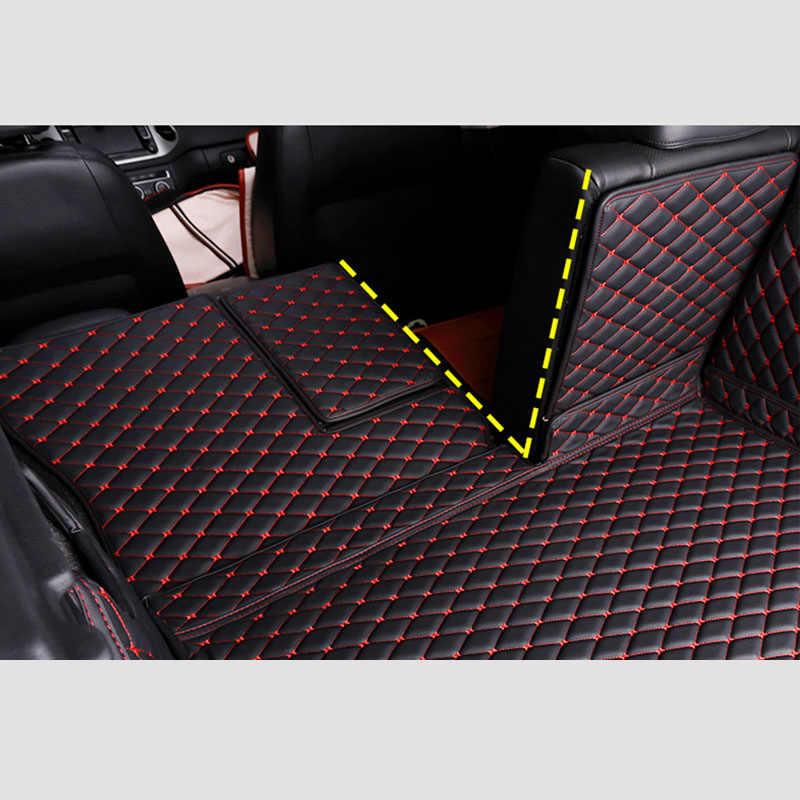 Sakura Carpet Boot Mat for SsangYong Rexton 7-Seat Set Up for Models 2005-13