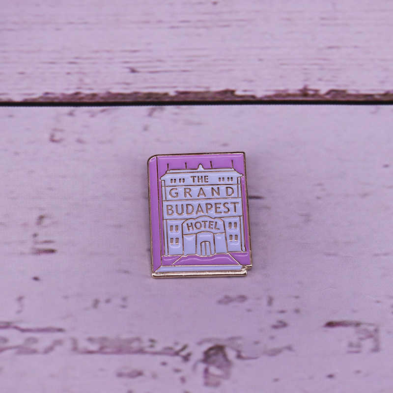 The Grand Budapest Hotel Pin Wes Anderson Pin