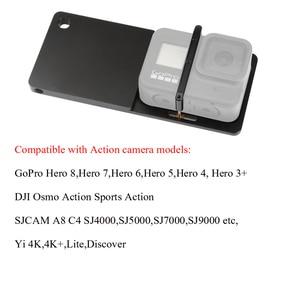 Image 3 - Шарнирный адаптер стабилизатор для экшн камеры Gopro Hero 8, 7, 6, 5, SJCAM, Yi, 4K, DJI OSMO, Feiyu, Zhiyun