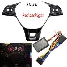 Multifunction Steering Wheel Switch Button For V W Golf 4 5 6 7 Passat b5 b6 tiguan tiguanL T ouareg Car Accessories