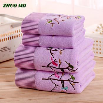 ZHUO MO 3 sztuk szybkoschnący Cartoon drzewa 3 kolory ręcznik z mikrofibry zestaw ręcznik twarz ręcznik plażowy dorosłych toallas do łazienki tanie i dobre opinie Zestaw ręczników Zwykły Tkane Plac 0 45kg Y-030 Można prać w pralce Quick-dry Sprężone 5 s-10 s Tkanina z mikrofibry