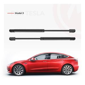 Image 5 - 2pcs Front Trunk Lift Struts For Tesla Model 3 Front Gate Boot Support Gas Spring Shock Hydraulic Rod