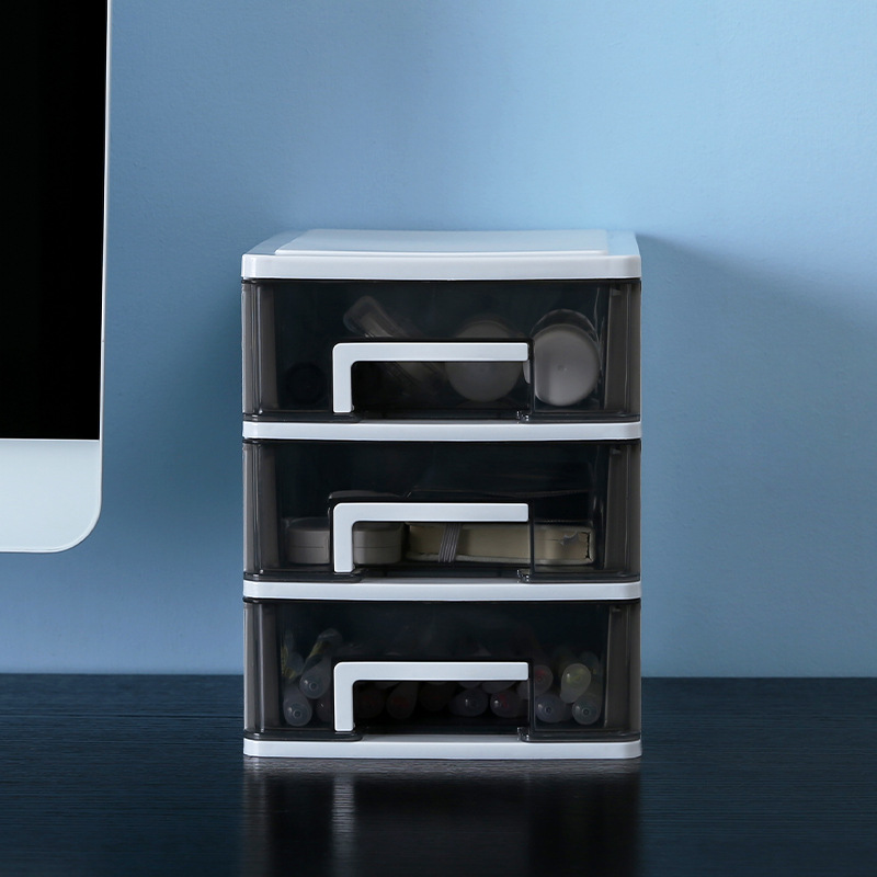 Box Small Drawer Desk Storage Cabinet