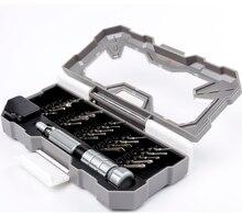 Magnético mini chave de fenda conjunto 23 em 1 original nanch precisão diário ferramenta reparo desmontagem para eletrônica telefone portátil brinquedo
