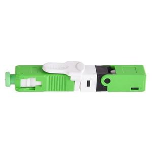 Image 5 - 100 Pz/borsa ESC250D APC Fibra Ottica Connettore Rapido FTTH SC Modalità Singola Ottica Veloce Connettore