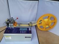 986T automatic cold Cloth belt cutting machine, Non woven cloth, ear band, magic adhesive tape webbing elastic belt cutting