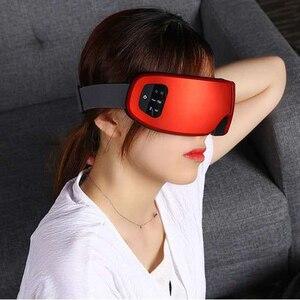 Image 2 - Smart 3D/6D Eye Massager Voor Ogen Rimpels Elektrische Ogen Care Draagbare Trillingen Ogen Massage Bril Vermoeidheid Anti Dark cirkels