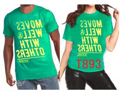 Men And Women Sport Tops T-shirt T820 827 828 829 830 831 832 833 834 835 857 859 848 893 902 901