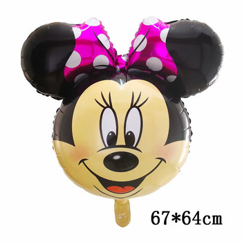 Giant Mickey Minnie Mouse Balloons Disney cartoon Foil Balloon Baby Shower Birthday Party Decorations Kids Classic Toys Gifts 43