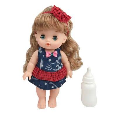 26 ซม.ไวนิลซิลิโคน reborn ตุ๊กตาเด็กทารกกระพริบตาร้องเพลงตุ๊กตาของเล่นสำหรับของขวัญเด็ก bebes reborn