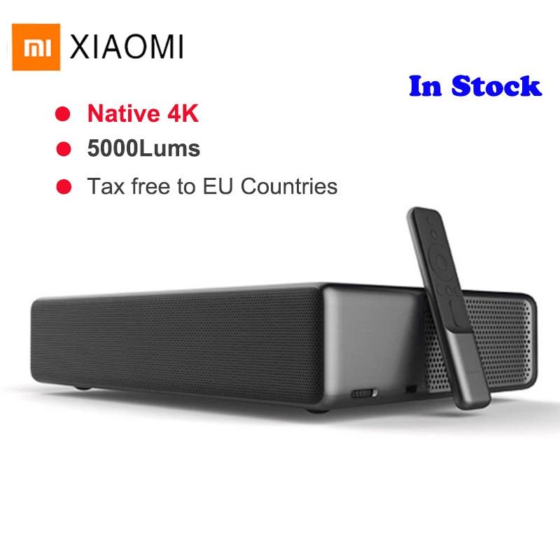 Xiaomi Mijia Laser Heimkino-projektor Full HD Android 6.0 5000 Lumen TV 1080p 4K Voice Control BT Wifi DOLBY DTS 3D