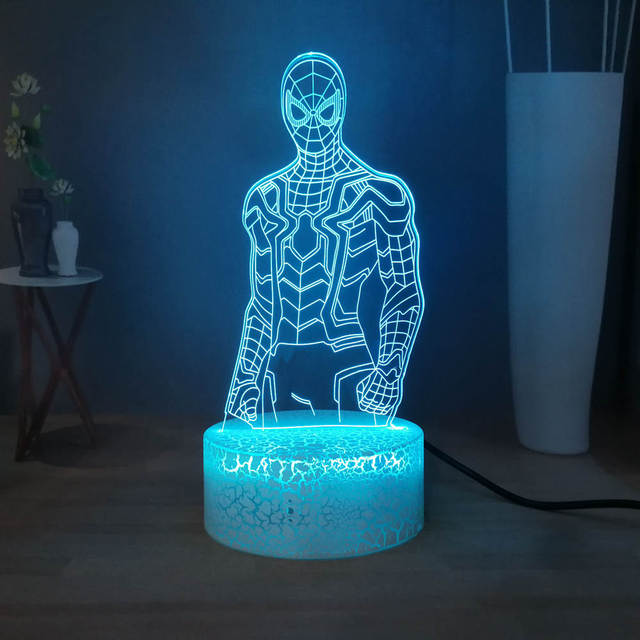 Spider Man LED Night Light 2