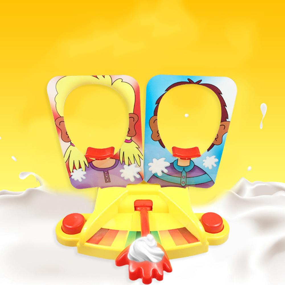 Single/Double Pie Face Showdown Game Challenge Family Interactive Table Toy