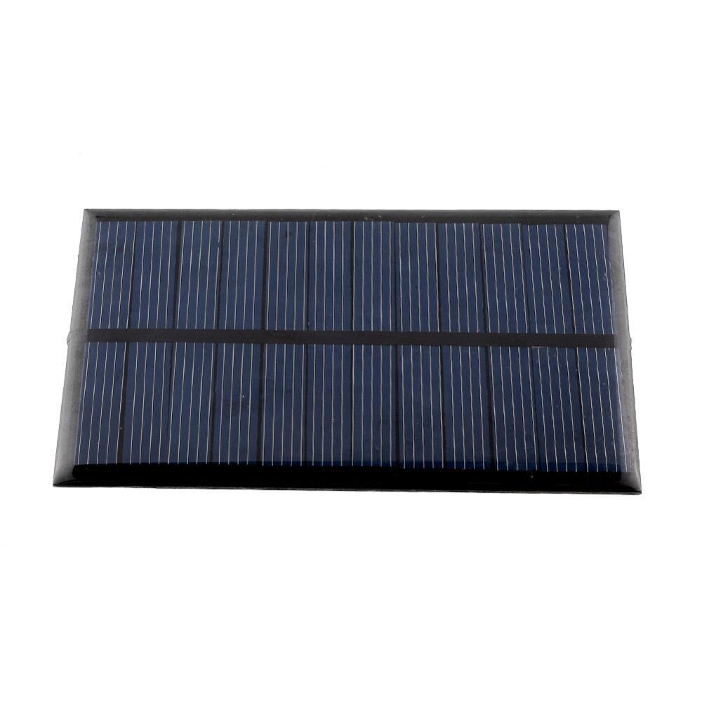 1W6V портативные зарядные устройства на солнечных батареях DIY 6V для мини внешнего аккумулятора солнечной системы для iPhone X/XS/XR iPad Tablet Universal