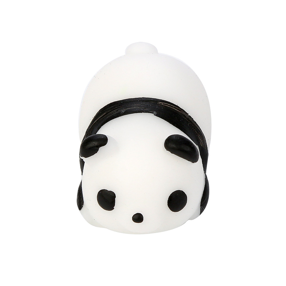 Cute Mochi Squeeze Healing Fun Kids Kawaii Toy Stress Reliever Decor Decompression Pinch TPR Doll Panda L103