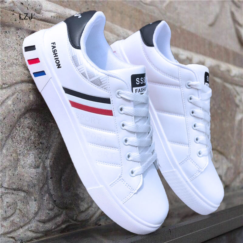 LZJ 2019 Spring White Shoes Men Shoes Men's Casual Shoes Fashion Sneakers Street Cool Man Footwear Zapatos De Hombre NX3