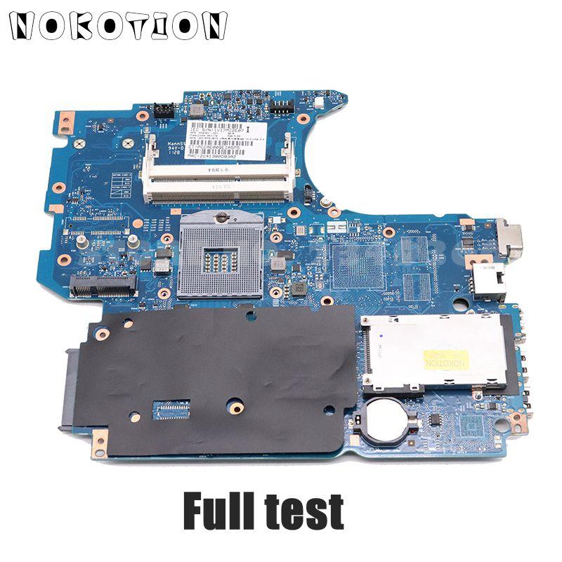 NOKOTION 658341-001 646246-001 For HP 4530S 4730S Laptop Motherboard HM65 UMA HD DDR3 Full Test
