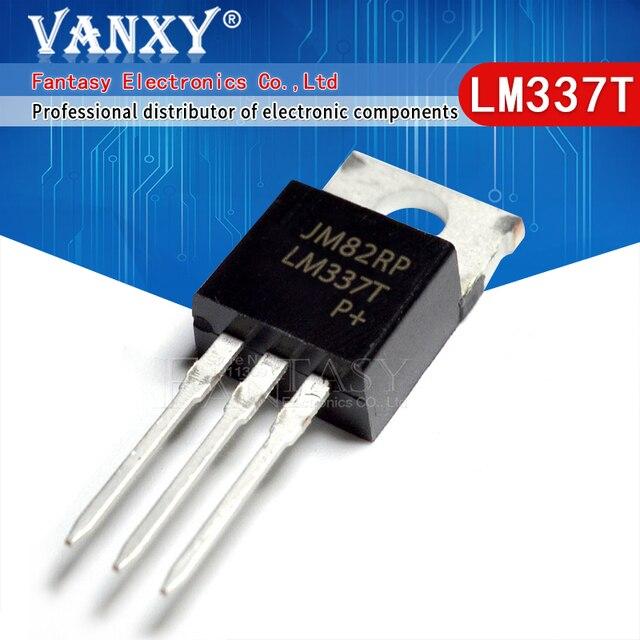 10 CHIẾC LM337T TO220 LM337 ĐẾN 220 337 T LM337HVT mới và ban đầu IC