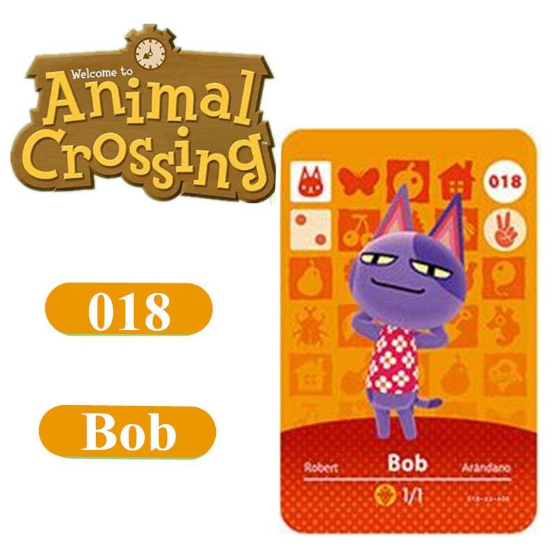 Animal Crossing Card Amiibo 18 Bob 264 Marshal NFC Card For Nintendo Switch NS Games Series 1 2 3 4