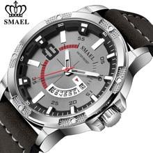 SMAEL – montre à Quartz pour hommes, marque de luxe, mode militaire, Date, Sport