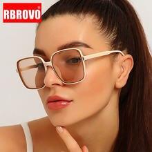 Очки солнцезащитные rbrovo в ретро стиле для мужчин и женщин