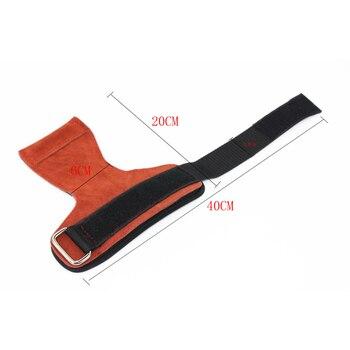 Grips Weight Lifting Gloves Heavy Duty Straps Alternative Power Lifting Hooks Deadlifts Adjustable Neoprene Padded