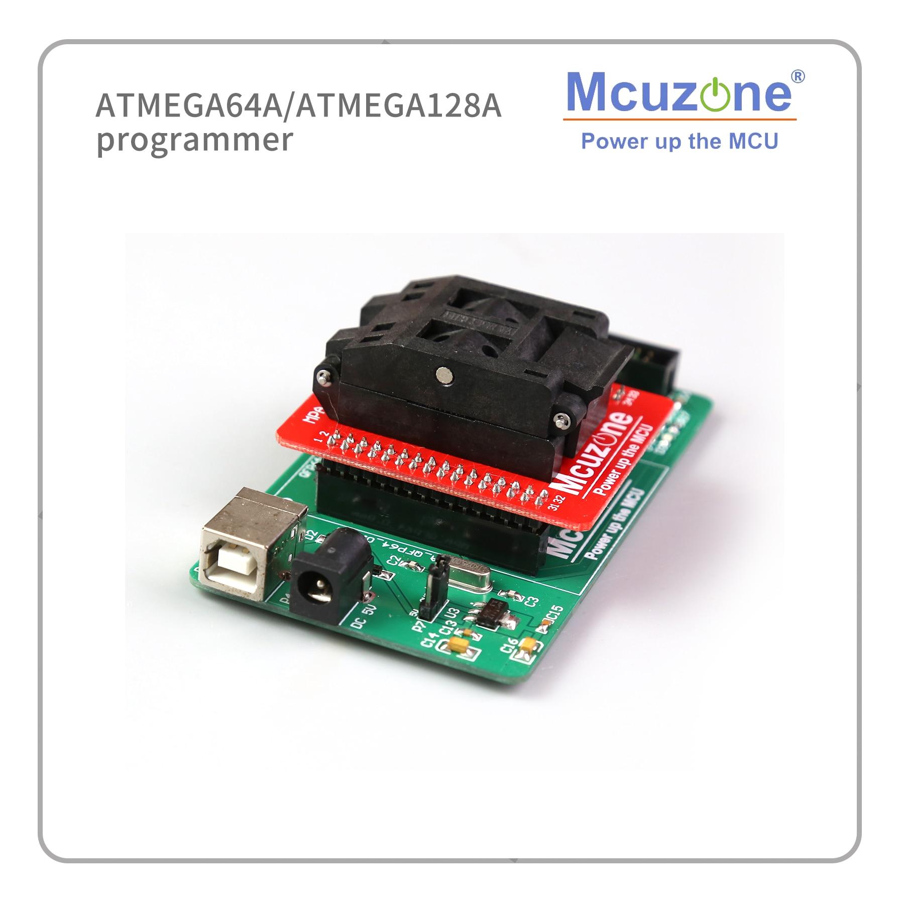 USB AVR ATMEGA64A/ATMEGA128A  Programmer Adaptor JTAG ISP