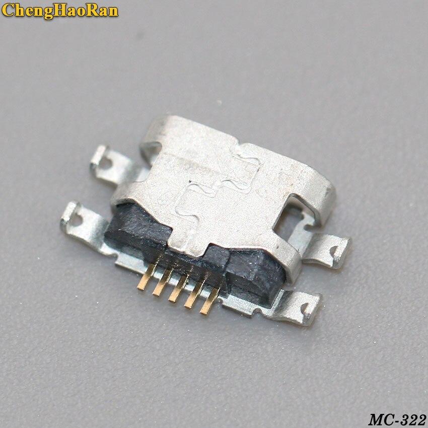 ChengHaoRan 2PCS Original For Nokia Lumia A501 502 535 N535 532 435 Etc Micro Mini Usb Charge Charging Jack Connector Plug