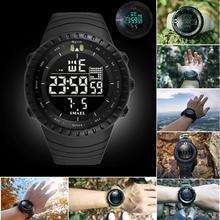 2019 New Top Brand Men LED Digital Watch Military W