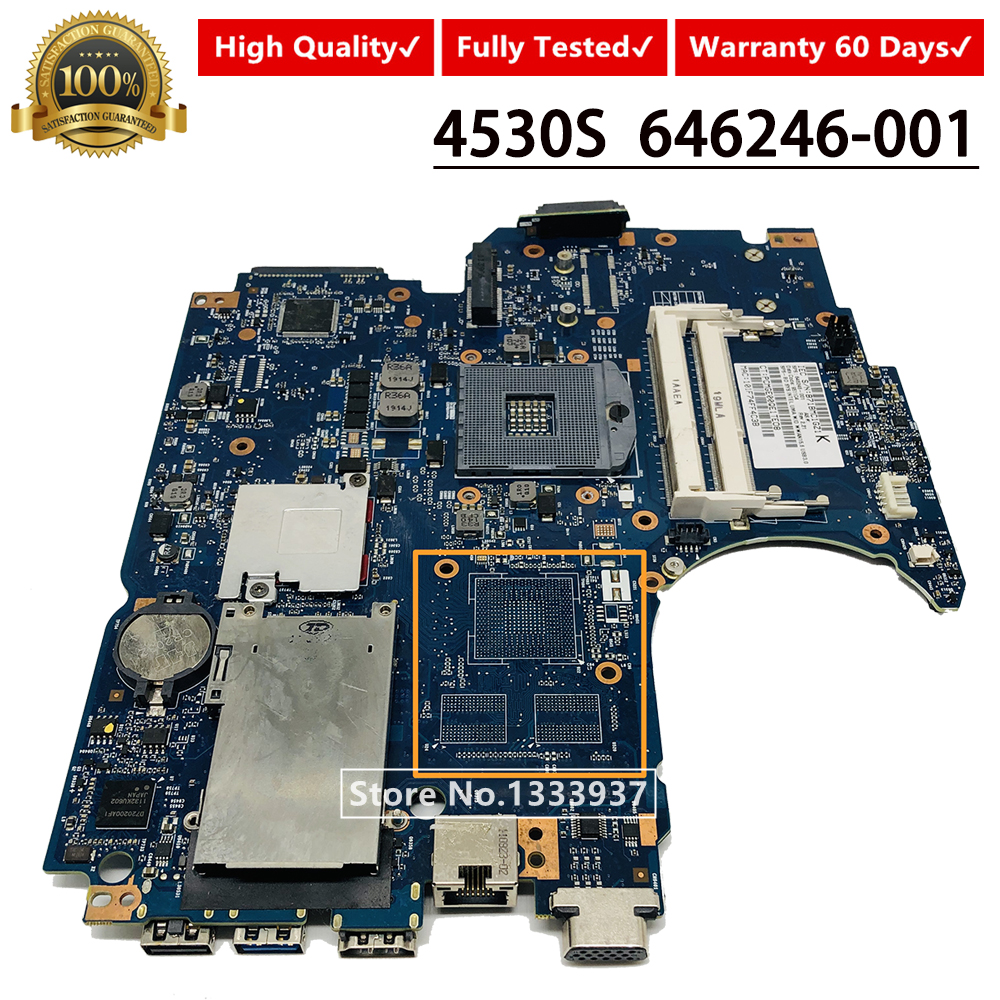 For HP PAVILION 4530S Laptop Motherboard 646246-001 646246-601 MAINBOARD