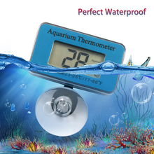 Aquarium Thermometer Waterproof Fish Tank LCD Digital Submersible Water Thermomete D30