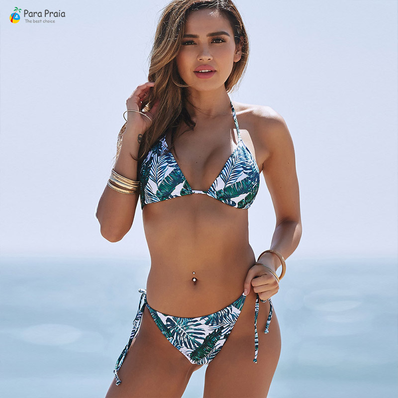<font><b>Sexy</b></font> Brazilian <font><b>Bikini</b></font> Set <font><b>Women</b></font> Swimwear Halter Swimsuit Bathing Suit Push Up <font><b>Bikini</b></font> Tanga Beachwaer <font><b>Bandage</b></font> <font><b>Bikini</b></font> Mini Swiming image