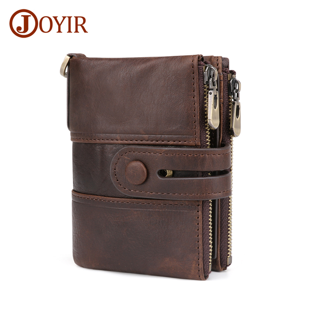 Genuine Leather RFID Wallet Coin Purse Short Male Money Bag Portomonee Male Card Holder Wallet Leather Wallet For Men cheap Cow Leather 0 12kg Polyester 4 92inch Solid Casual 2086 Interior Slot Pocket Interior Zipper Pocket Interior Compartment