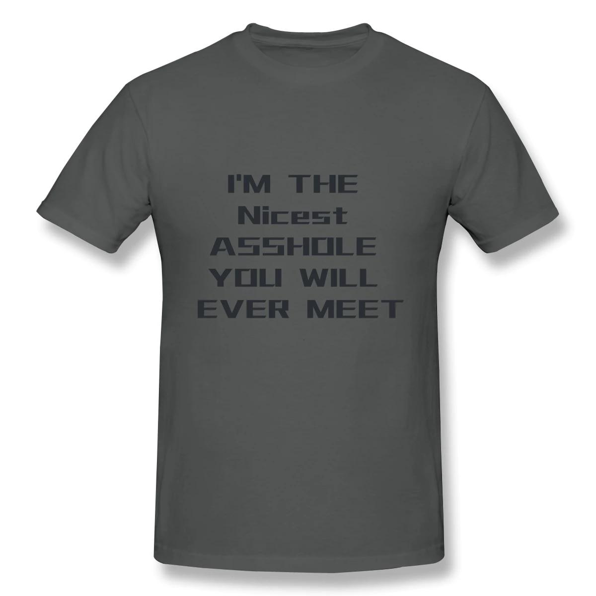 Asshole Shirt Cool Mens Shirt Crazy Shirt Sarcastic T Shirt Shirt For Asshole Nice Guy Gifts Rude Shirts Men Funny Shirt For Men
