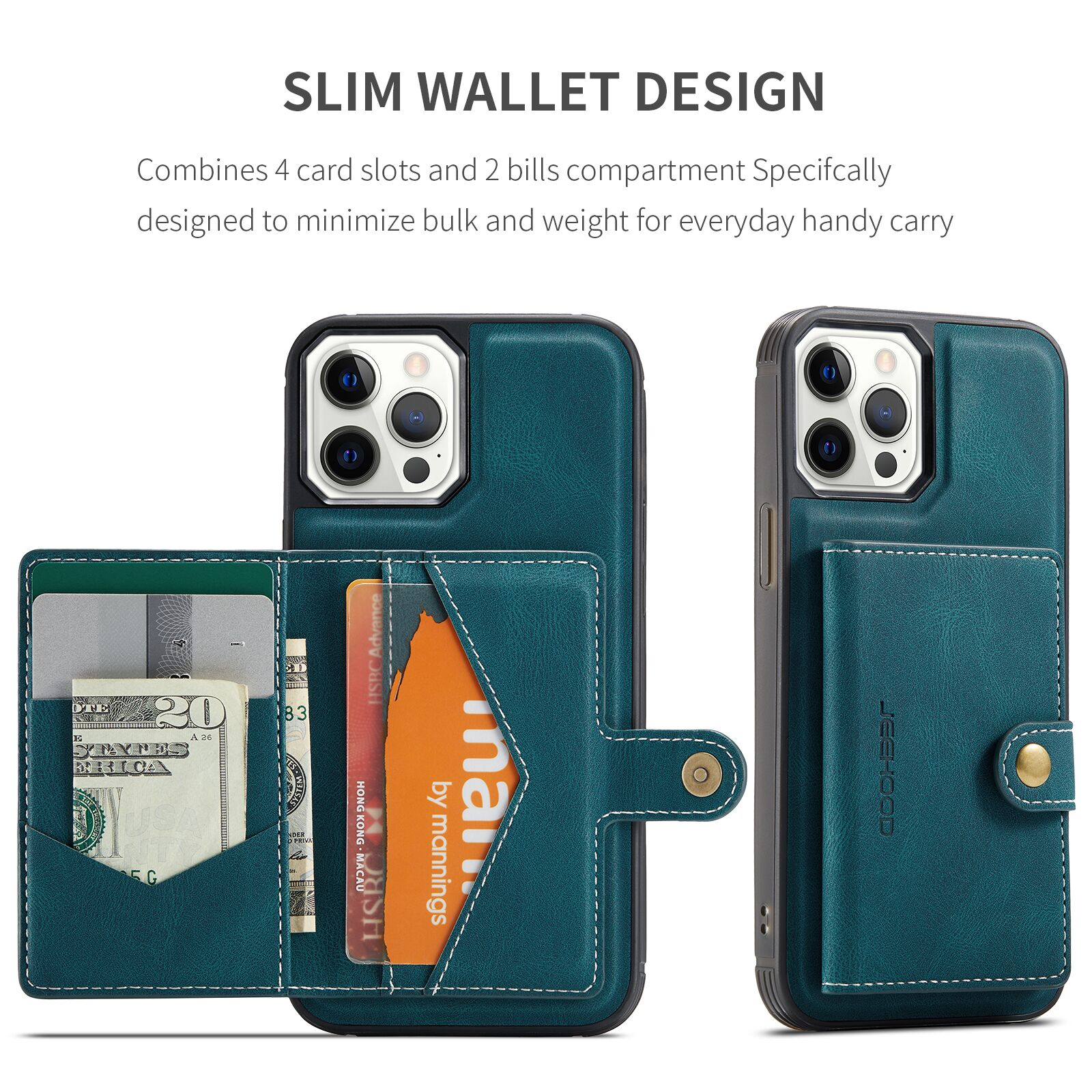 Hb6fe3c7e8d164783aded85cd29ed1d0cw Capinha case Capa traseira para o iphone 12 11 pro max xs xr x se 2020 8 7 plus caso do telefone com suporte de cartão de couro magnético destacável carteira saco