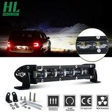 HAOLIDE 7Inch 90W Đèn LED Làm Đèn Xe Tải 12V 24V SUV ATV 4X4 Offroad Ánh Sáng thanh Combo 6000K Siêu Sáng Xe Máy