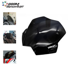 Apto para yamaha tmax T-MAX 530 2012 2013 2014 2015 2016 moto pára-brisas defletores de vento