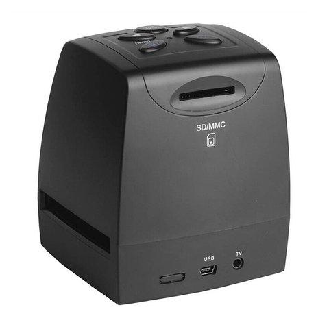 film scanner de slides fotos negativo