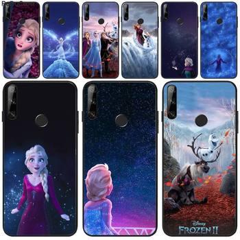 Перейти на Алиэкспресс и купить Чехол Manton Frozen Elsa Anna для Huawei Y5 Y6 Y7 Y9 Prime Pro II 2019 2018 Honor 8 8X 9 lite View9